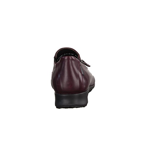 pour rouge femme Mocassins Mephisto Rot 5OqZgHa