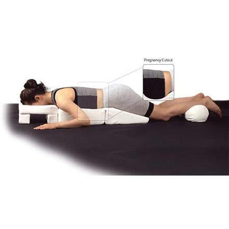 Maternity Massage Pillow - NRG Pregnancy Massage Cushion with Headrest