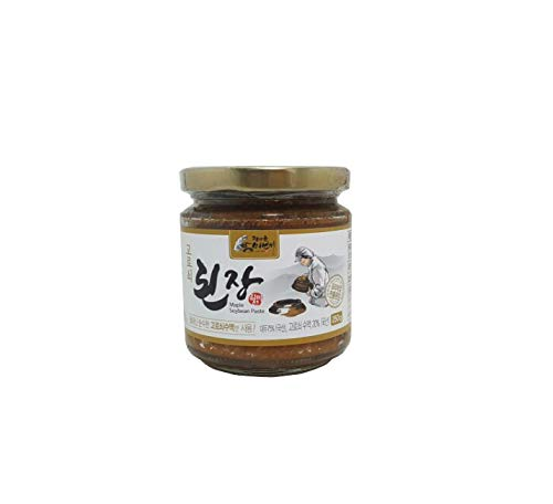(Korean Traditional Organic Fermented Soybean Paste Miso Doenjang NON-GMO K-foods 8.81 / 17.6 / 33.5 oz Jirisan Piagol [피아골 미선씨 된장])