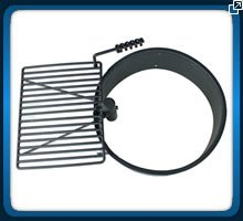 36'' Steel Fire Ring with Cooking Grate Campfire Pit Park Grill BBQ Camping Trail by Titan Outdoors (Image #8)