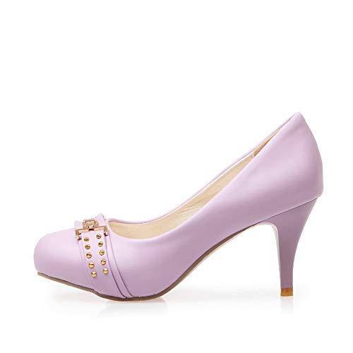 Sandales Violet Compensées MMS06132 Femme 36 Inconnu 1TO9 5 Violet qxFp6Pnzw
