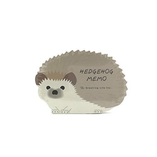 1 Die Cut Memo Pad - Hedgehog Die-cut Memo Pad 4.25