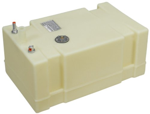 (Moeller Marine 032519, Below Deck Permanent Fuel Tank, 19 Gallon - 26.00 in. L x 16.00 in. W x 14.50 in. H)