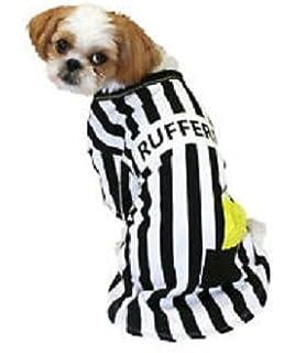 pet tee rufferee glow in the dark referee costume