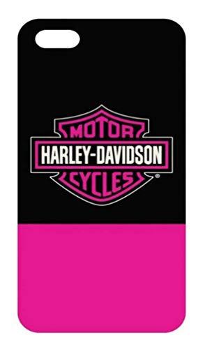 Harley-Davidson Women's B&S Block iPhone 7 Plus Phone Shell, Black & Pink 7869