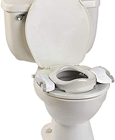 Light Grey Home Planter with Soft Refill and 10 Disposable Refills Multi-Function Potty Pack: Travel Pot Toilet Trainer