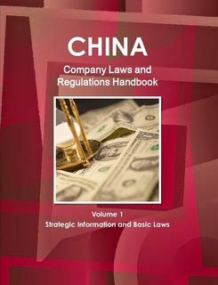 China Company Laws and RegulationsHandbook (World Law Business Library)