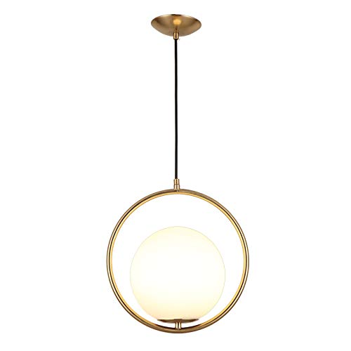 Black And Gold Pendant Light in US - 3