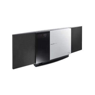 Panasonic SC-HC3 Ultra-Slim iPod Docking Speaker System with CD player, AM/FM Radio, Clock, Alarm, and Remote (Black)