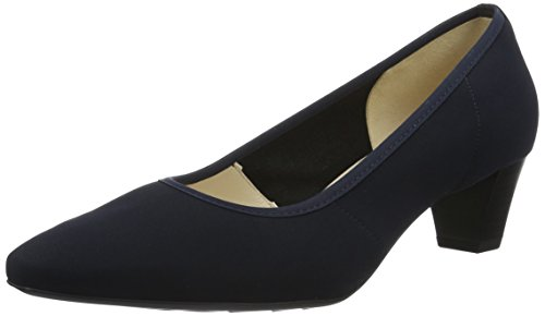 Peter Kaiser Damen Swenja Pumps Blau (navy Stretch Notte Chevro 511)