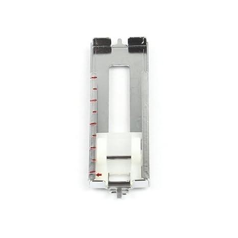 Ojal Soporte (metal)/Ojal Botones para máquinas de coser con obertra nsport (5 mm punto de ancho) por ejemplo Gritzner Tipmatic - , 1037, 6122, ...