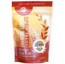 Living Intentions Organic Mango Goji Fire Sprouted Trail Mix, 7 Ounce - 6 per case.