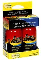 5 Hour Energy Drink Lemon-Lime, 2x2 Ounce ()