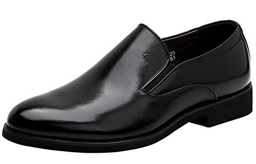 In Scarpe Pelle Black Scarpe Uomo Casual Da Eleganti 8wqtf1