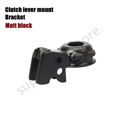 Clutch Lever Bracket - Black Clutch Lever Mount Bracket Perch dyna For Harley Touring Perch Softail Sportster