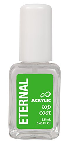 Eternal Acrylic Top Coat Gel – Mirror Shine Strength No UV Lamp Nail Polish – 1 Unit