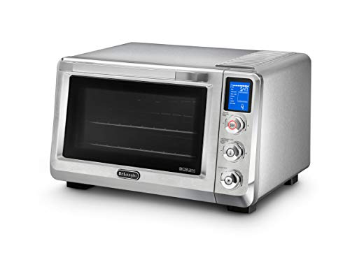 DeLonghi EO241250M Livenza Digital Stainless Steel Countertop Convection Oven
