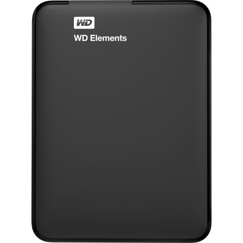 WD 4TB Elements Portable External Hard Drive - USB 3.0 - WDBU6Y0040BBK-WESN - Mac External Portable Hard Drives