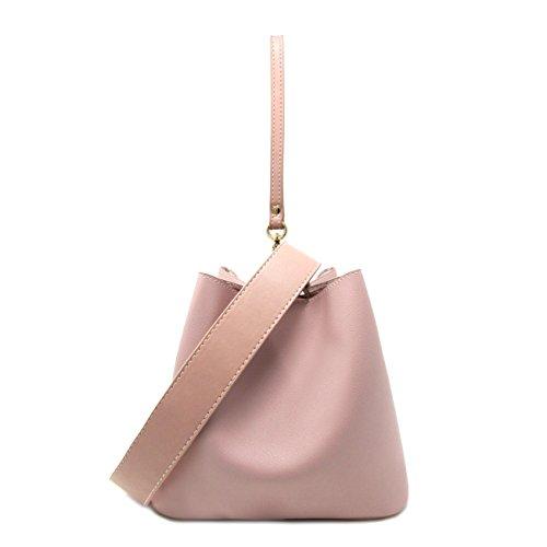 Solene Stylish Top Handle Crossbody Bags Purses Shoulder Bag for Women  Blossom Pink 5775deb830692