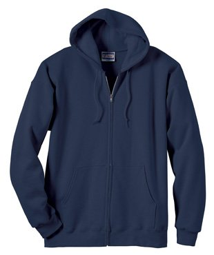 Mens 10 Oz Hooded Fleece - 2
