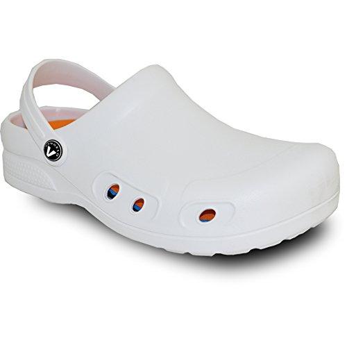 VANGELO Professional Slip Resistant Clog Unisex Work Shoe Chef Shoe Nurse Shoe Ritz
