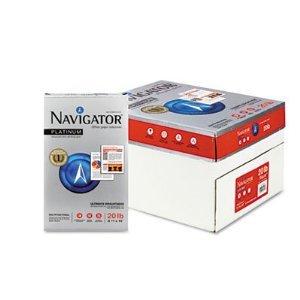 Navigator - Platinum Paper, 99 Brightness, 20lb, 8-1/2 x 14, White, 5000/Carton -