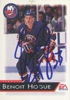 Benoit Hogue New York Islanders 1993 EA Sports Autographed Card. This item comes with a certificate of authenticity from Autograph-Sports. Autographed ()
