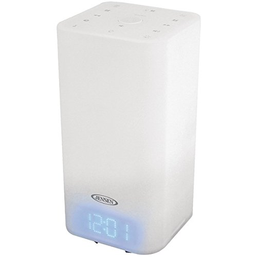 Jensen(R) JCR-370 Mood Lamp Digital Dual Alarm Clock Radio