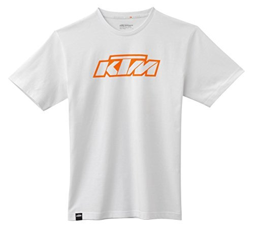 KTM SX Logo Tee Shirt White 2X-Large