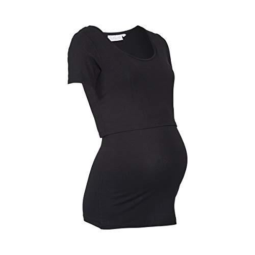 2herzen und T Schwangerschaft Shirt schwarz Pflege zVSpqUM