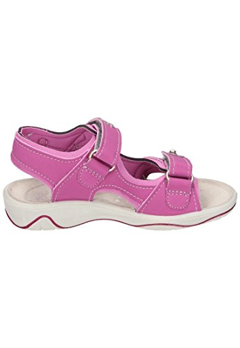 Ricosta Mädchen Shari Offene Sandalen Pink (Candy/Peony)