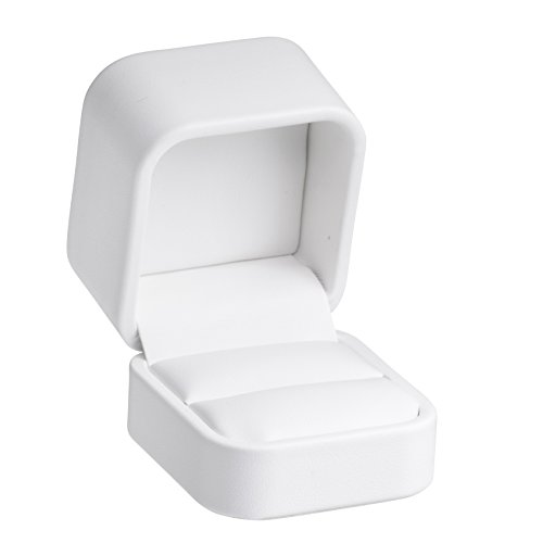 (Allure Classic Ring Box, White)