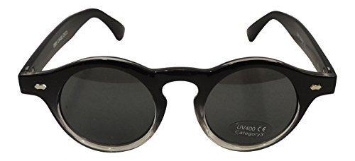 Gafas de sol estilo retro años 20 30 40 VTG 1 UV400 negro ...