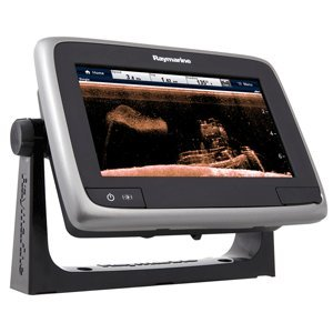 (Raymarine a78 Multifunction Display with CPT-100DVS Transom Mount Transducer & USA C-Map Essentials, 7
