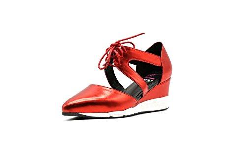 Skoeske Spark Atletisk Mote Sneaker Sandaler Røde