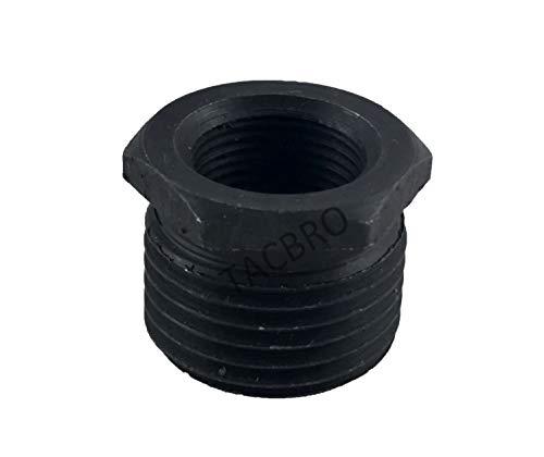 TACBRO 1/2 x 28 to 3/4 x 16 Automotive Steel Thread Oil Filter Adapter