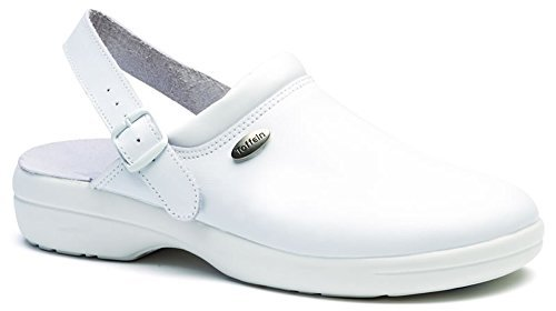Flexlite Bianco Infermiere 0599 com Toffeln Scarpe of per MORBIDE ANTISTATICI Lite Clogs Bianco Zoccoli World Ow1pn