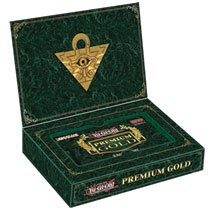 YuGiOh! 2014 Premium Gold box (FIVE mini boxes / ONE 15-card pack per mini box)
