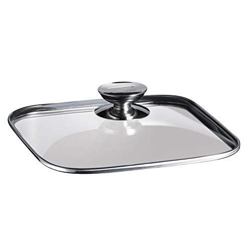 (Berndes Quadro glass Lid 9.5-by-9.5-Inches)