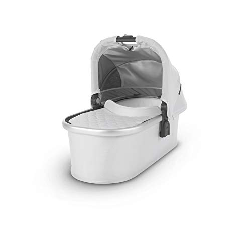 UPPAbaby Bassinet, Bryce White Marl/Silver, Standard