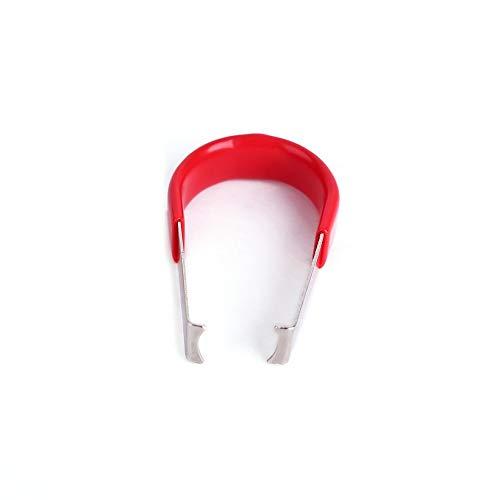 QingTanger Rueda de Coche Perno Tuerca Caps Cubre Tirador del removedor Herramienta Pinzas Tiradores de Metal