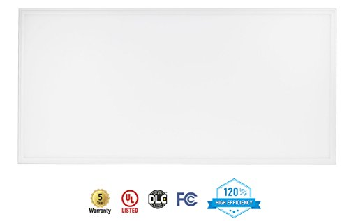 2-PACK ASD LED Panel 2x4 Dimmable Edge-Lit Flat 40W 3500K (Warm White) 4476 lm, UL Listed DLC Certified by ASD (Image #1)