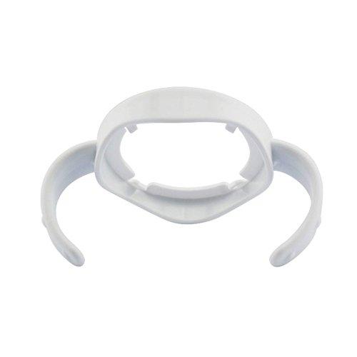 Merssavo Poignée pour biberon avec large calibre Diametre 5.3cm universelle Bleu clair