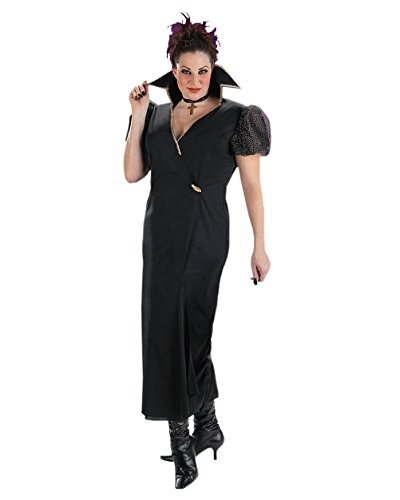 [Plus Size Theatre Costumes Transylvania Classic Witch Costume Black Dress Sizes: One Size] (Black Widow Costumes Cheap)