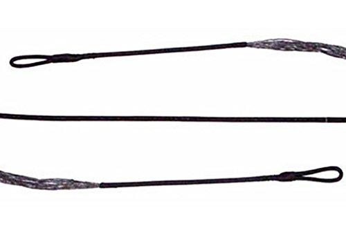 """Triple Trophy Dacron Bowstring Black 16st 68"""""""