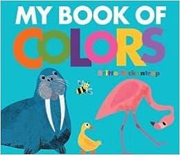My Book of Colors: Britta Teckentrup: 9781435156760: Amazon.com: Books
