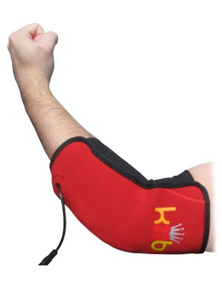 Basics Elbow Heating Pad. Heating Pad for Golfers or Tennis Elbow, or Tendonitis (Heated Elbow Wrap)
