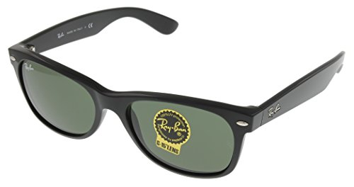 Ran Ban New Wayfarer Sunglasses Unisex Black 100% UV Protection RB2132 901L (Cheap Ray Ban Black Wayfarer)