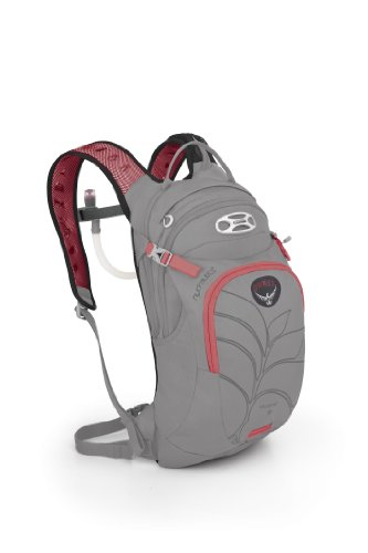 Osprey Women's Verve 9 Hydration Pack, Platinum Grey, One Size, Outdoor Stuffs