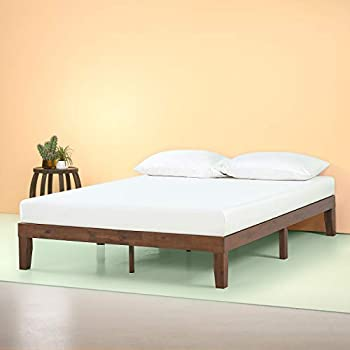 Amazon Com Zinus Marissa 12 Inch Wood Platform Bed No